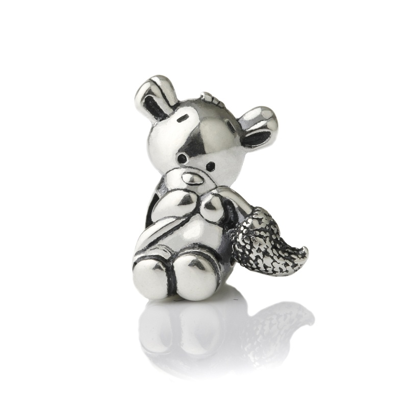 Shy Squirrel Charm