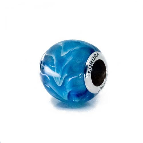 Ocean Wave Glass Bead