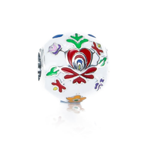 Folklore Matyo Flowers Bead