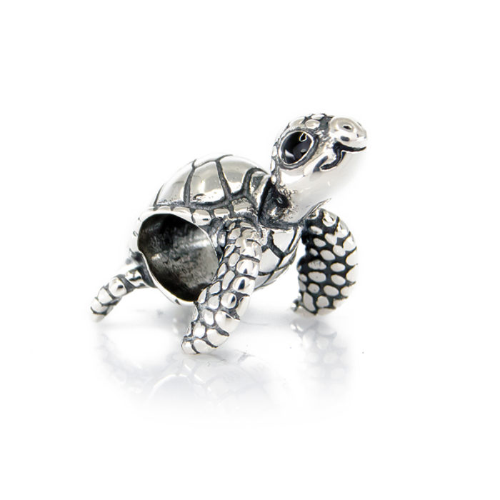 happy turtle charm