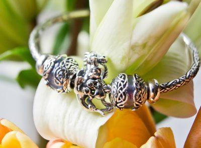 dragon unicorn charm bracelet