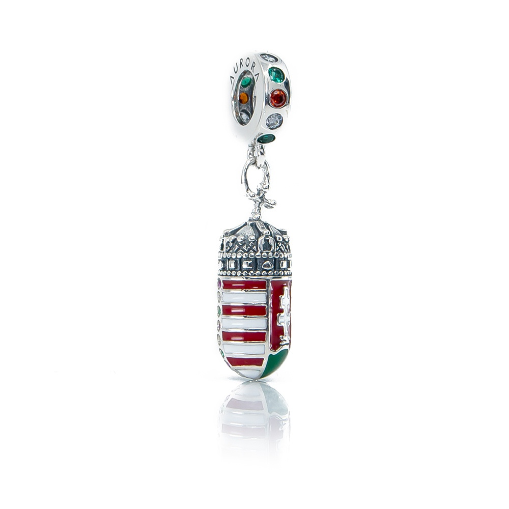Hungarian Coat of Arms Dangle