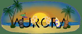 Aurora Charm Logo