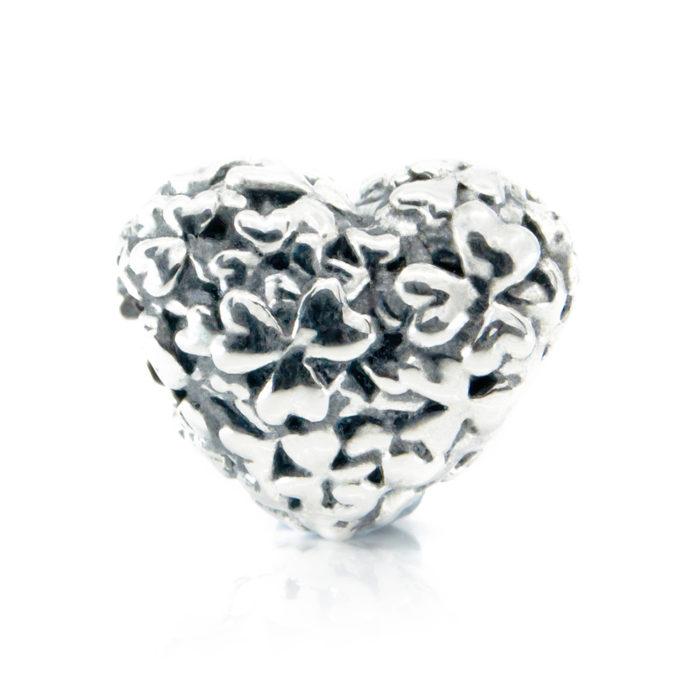 Heart of shamrocks