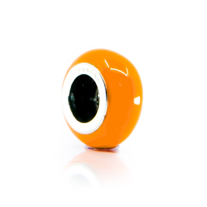 orange enamel stopper