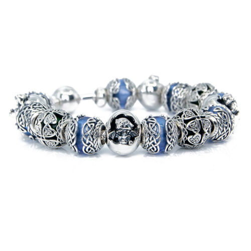 Celtic dragons bracelet
