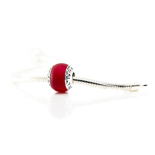Manihi Red glass bead